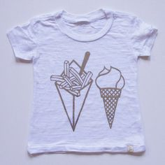 This is a kid's shirt (Atsuyo et Akiko Junk Food Tee) but I like it!