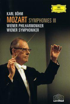 Karl Bohm dirigiendo las Sinfonías de Mozart