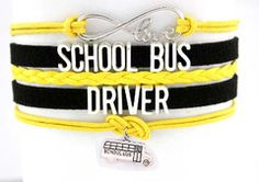 School Bus Driver Infinity Bracelet - Special Promotion