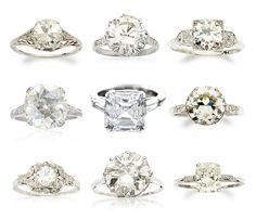 vintage rings! love.
