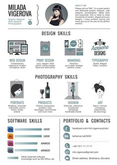 30+ Examples of Creative Graphic Design Resumes…