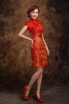 Chinese Wedding Cocktail Dress
