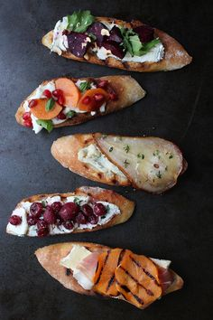 Winter Crostini @honestlyyum