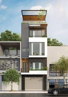 Công ty xây dựng Nguyên giới thiệu mẫu Thiết kế xây nhà phố 4,5 tầng 5x10m được thiết kế theo phong cách hiện đại với các miếng mảng thiết kế không cầu kì về hình thức thể hiện, ngôi nhà sử dụng kết cấu bằng bê tông thông qua con mắt nghệ thuật của các kiến trúc …