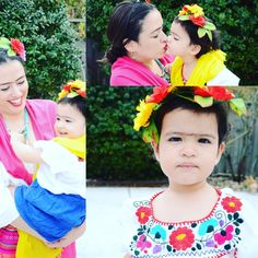 Happy birthday to this little piece of me, and in name of international women's day, here are pics of us dressed as one of my favorite feminists. #babymelissa #happybirthday #internationalwomensday #babyfridakahlo  Parabéns para esse pedacinho de mim, e em nome do dia internacional das mulheres, aqui vão fotos nossas vestidas de Frida, minha feminista favorita.