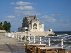 Casino at the Black Sea, Romania Danube Delta, Black Sea, Eastern Europe, Bulgaria, Homeland, Wonderful Places, Romania, Places Ive Been, Scenery