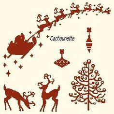 Sleigh and reindeer chart