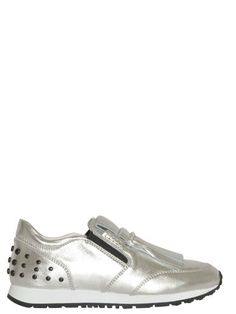 TOD'S Tod'S Shoe Silver. #tods #shoes #tod039s-shoe-silver