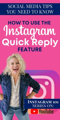 Here are some social media tips and tricks you NEED to know! This is a step-by-step tutorial plus an Instagram 101 series...all on YouTube! Learn how to use Instagram's Quick Reply feature and more business/social media marketing tips from Jennifer Allwood. #jenniferallwood #socialmediamarketing #socialmedia #onlinemarketing #instagram Social Media Marketing Business, Business Education, Business Advice, Business Entrepreneur, Social Media Tips, Online Marketing, Marketing Ideas, Twitter Tips, Inspirational Quotes About Love
