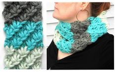 Clara Star Cowl - pdf pattern on Ravelry Quick project in Super Bulky mohair-blend wool