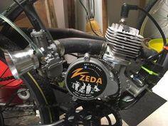 Racing Engines and Kits Bicycle Engine Kit, Motorcycle Engine, Engineering Works, Race Engines, Frankenstein, Racing, Bike, Stupid, Art