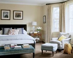 Jennifer Adams Design Tips and Trends: How to Create the Perfect Bedroom Sitting Area