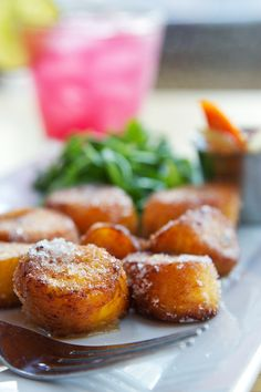 Platanos Maduros con Salsa de Habichuelas (Cuba) – sweet ripe plantains with spicy bean sauce, from Alma Pan-Latin Kitchen - Pittsburgh Magazine #Pittsburgh #Restaurants