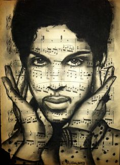 Giclee print of Prince by RebeccaMillerArt on Etsy, $225.00