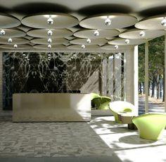incorporated architecture design - benroth rolston stuart - WT Lobby Green