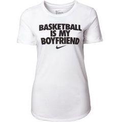 Nike Womens Basketball Is My Boyfriend Graphic T-Shirt - Dicks Sporting Goods