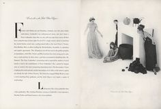 "Cinderella - Carmen Dell'Orefice was the heroine in Vogue's 1946 ""Fables Retold"" feature. Here, Irving Penn's retelling of Cinderella, or the Little Glass Slipper. ""Looking more like a fairy godmother than a fairy godmother,"" the caption read, ""Mrs. Cushing Mortimer [Babe Paley]; posing as Cinderella's cruel stepsisters, Dorothy Parker and Paula Laurence, wits in two mediums."""