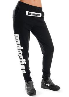 SDC GEO BLACK - CARROT - SPODNIE : Endorfinawear.com