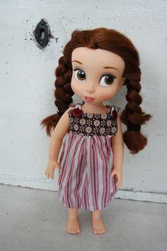 Disney animator doll's dress