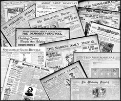 Genealogy Jackpot: Ohio Digital Newspapers