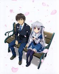 Julie Sigtuna and Kokonoe Tooru (Absolute Duo) Absolute Duo, Light Novel, Akiba's Trip The Animation, Anime Galaxy, Anime Watch, Best Duos, Image Manga, Cute Anime Couples, I Love Anime