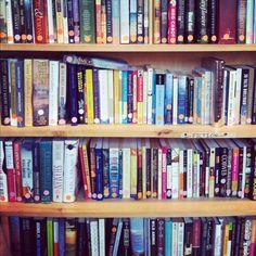 Saving money at a thrift shop #books #music #clothes