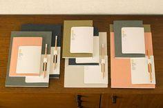 Monocle stationery notebooks, precious color scheme