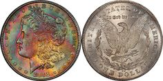 1878-CC Morgan Dollar PCGS MS64+ CAC (EST: $3,500.00+, No Reserve) | READ MORE AND BID NOW: http://www.legendmorphyauctions.com/search/details/c/Classic_U.S._Coins/g/Silver_Dollars?id=102261&lotId=2641