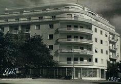 Κυψέλη οι πρώτες πολυκατοικίες. Athens, Kypseli, the first blocks of flats