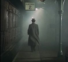 "Jeremy Brett as Sherlock Holmes in ""The Hound of the Baskervilles."" My favorite Holmes by far!"
