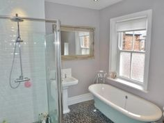 3 bedroom terraced house for sale in Alwinton Terrace, Gosforth, Newcastle Upon Tyne, - Rightmove. Terraced House, Clawfoot Bathtub, Corner Bathtub, Property For Sale, Bedroom, Inspiration, Home, Biblical Inspiration, Corner Tub