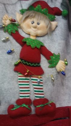 Elf Christmas Decorations, Christmas Gnome, Christmas Signs, Christmas Crafts, Christmas Ornaments, Holiday Decor, Raggedy Ann, Christmas Traditions, Elf On The Shelf