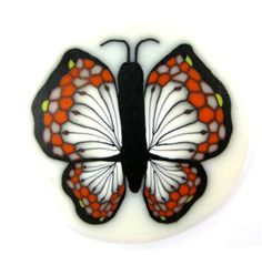 Polymer clay butterfly cane by tamishvat on Etsy,