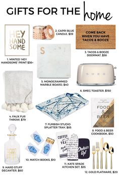 Holiday Gift Guide | Gifts For The Home | Christmas Gifts For The Hostess | The Ultimate Holiday Gift Guide