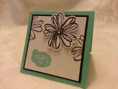 Best of Greetings, Flower Shop, 3x3 Card