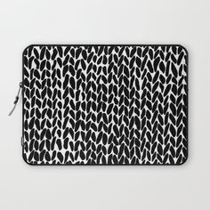 Design your everyday with laptop sleeves you'll love. Protect your computer or iPad with unique artwork from independent artists across the world. Macbook Air Laptop, Laptop Bag, Macbook Sleeve, College Fashion, Tech Accessories, Laptop Sleeves, Hand Knitting, Personal Style, Zip Around Wallet