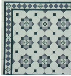 Edwardian Tiles - Glasgow with Glasgow Border