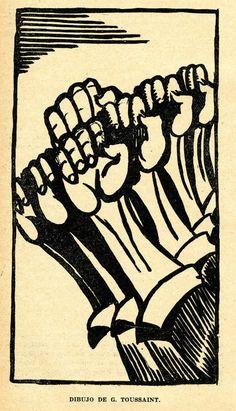 Dibujo de G. Toussai