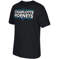 Men's adidas Black Charlotte Hornets Dassler T-Shirt