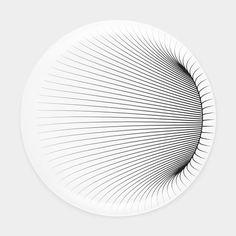 ザハ・ハディド:イリュージョン ディナープレート(2枚セット)