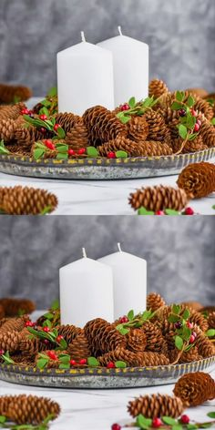 Those Cinnamon Pinecones are such an easy #DIY you can do at home. Perfect for decorating or giving away!
