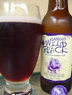 Shadow's Wild Black Blackberry Lagar. A bold and not too sweet brew.Really like this one just watch it has a 8% AVB.
