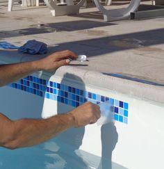 azulejo de borda de piscina - Pesquisa Google