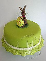 Osterhasen Torte für Ostern Cake, Desserts, Food, Easter Bunny, Easter, Kuchen, Tailgate Desserts, Pie, Dessert