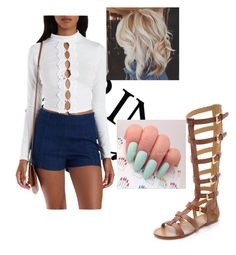 """""""fashion"""" by cornelius-amaya on Polyvore featuring belle by Sigerson Morrison and Charlotte Russe"""