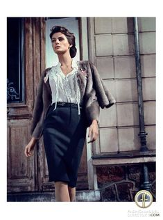 Isabeli Fontana featured in the                     Vogue Italy editorial
