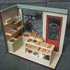 2010, Miniature Bakery shop♡ ♡ My Dollhouse