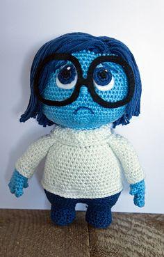 Ravelry: Inside Out Sadness pattern by Caits CrochetedDolls