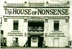 The House of Nonsense -  Dominion Amusement Park -  Montreal -  1910