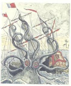 squid vs. boat